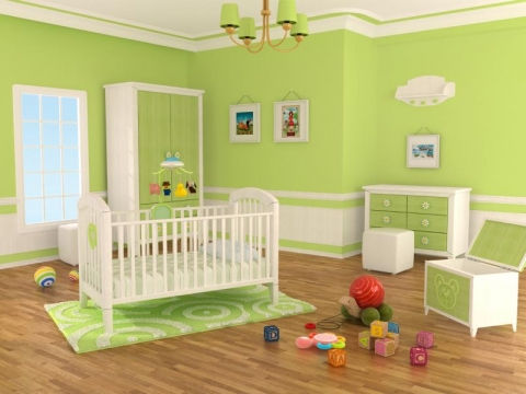How to Decorate an Eco Nursery Picture